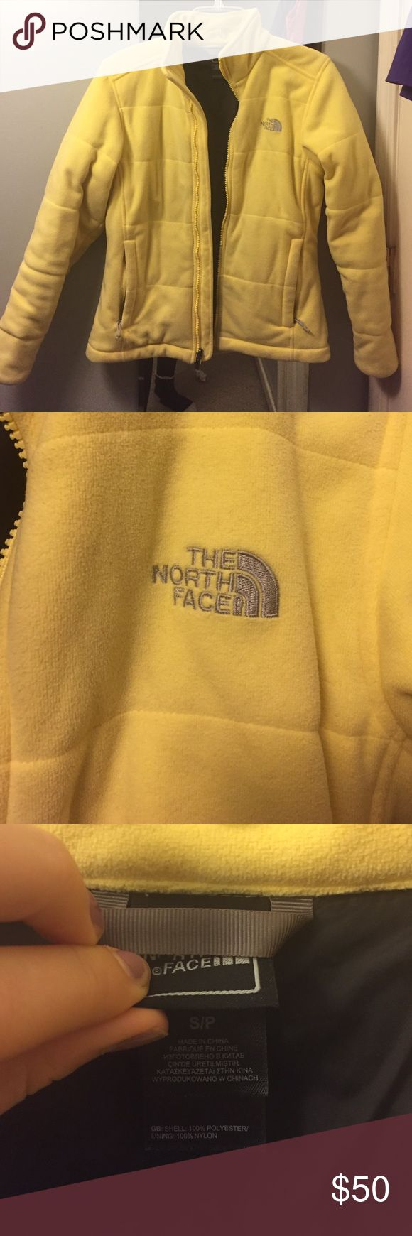 Big north face jacket! Yellow; north face; thick; winter coat! The North Face Jackets & Coats Utility Jackets