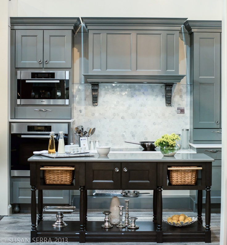 Transitional Kitchen Cabinets: 127 Best Images About Gray Kitchens On Pinterest