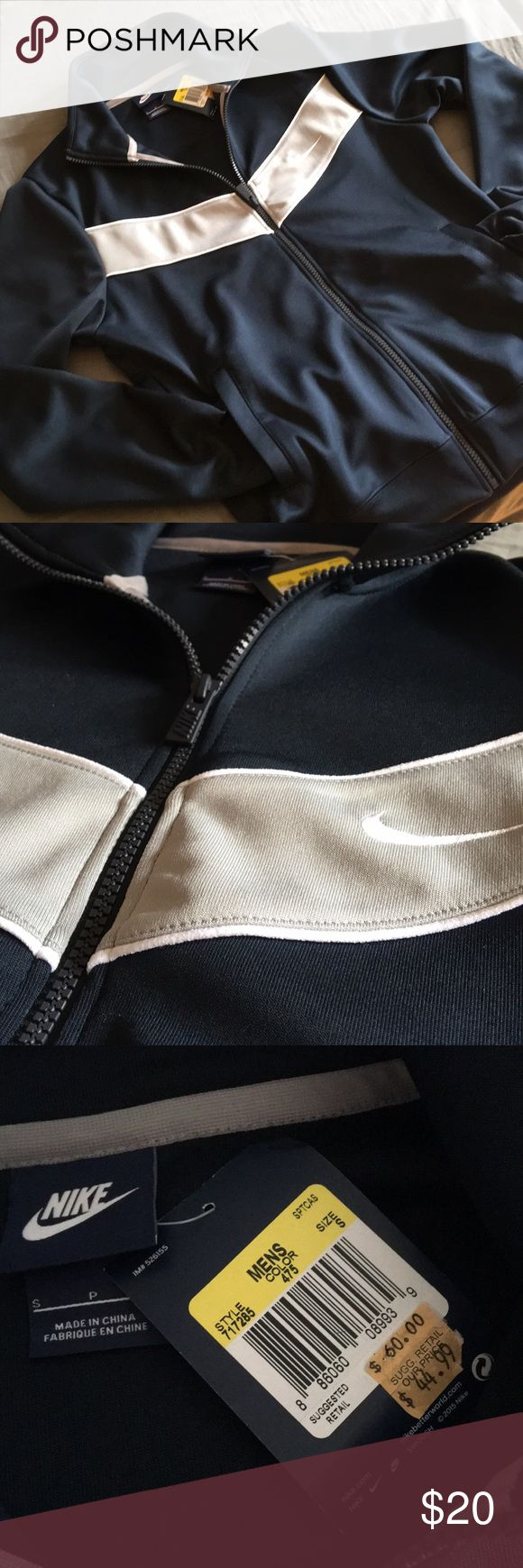 Nike men's sports jacket Men's Nike sports jacket, size S, new with tag Nike Jackets & Coats