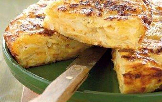 Ομελέτα φούρνου με πατάτες