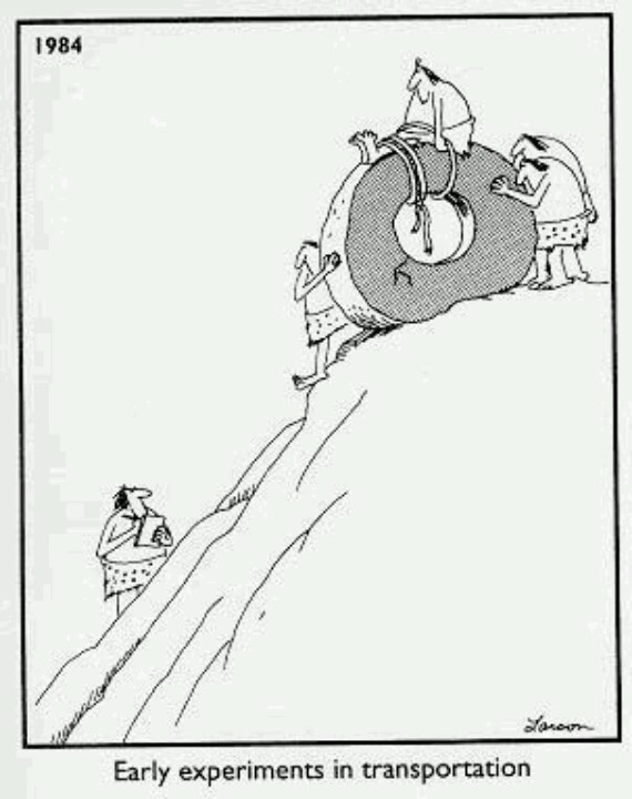 Early experiments in transportation | The Far Side ...