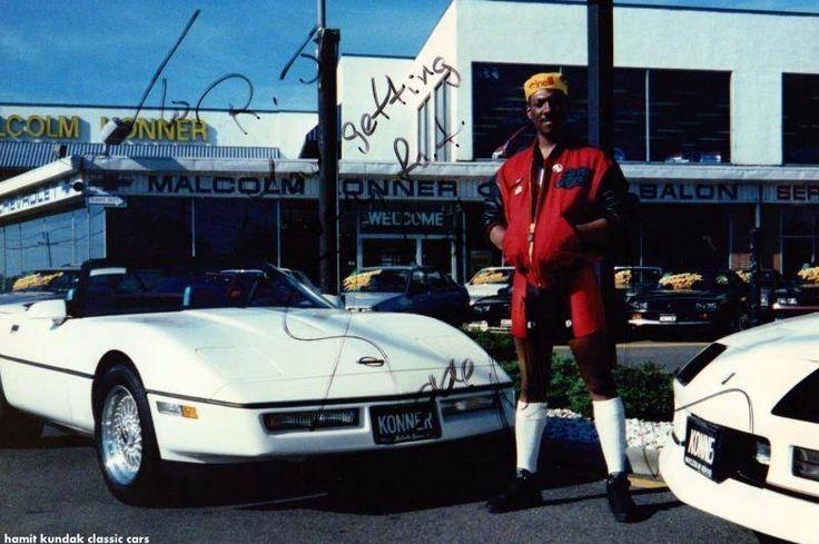 Michael Jordan Does A Burnout In A C4 Corvetteforum