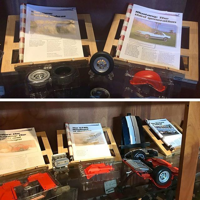 Forum user Metal Mech is displaying his Shelby Mustang GT500 at his local museum - check out his progress!