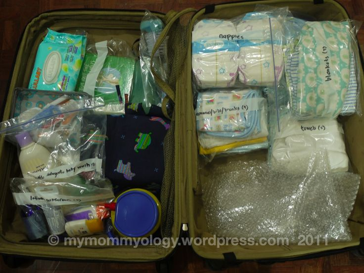 Packing for an Infant and a Toddler (and Then Some)
