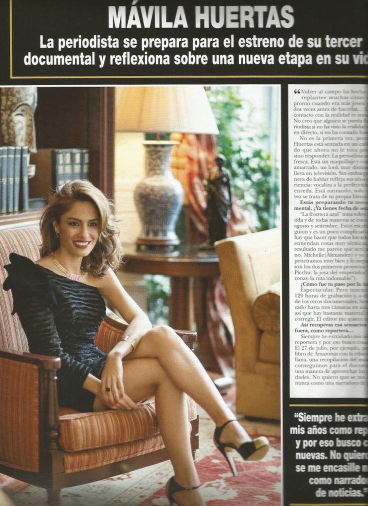 Amaro Casanova Revista Hola! Perú Mavila Huertas