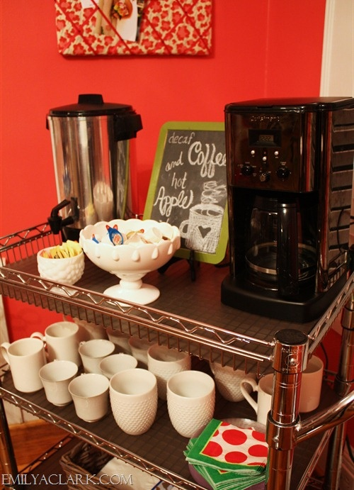126 best baking coffee station images on pinterest for Food bar on church