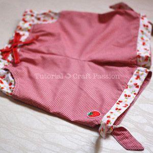 complete tie hem girl shorts