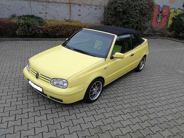 VW Golf 4 Cabrio 1,9TDI Highline DPF HU/AU Neu Leder Alufelgen Top