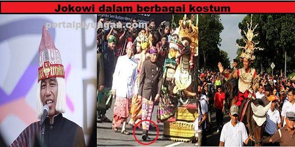 KONTROVERSI Topi Adat Batak Jokowi Ayo Ngaku Siapa Yang Sudah Mengerjai Jokowi!  [portalpiyungan.com]Beberapa hari ini publik dihebohkan oleh penutup kepala Jokowi yang digunakan saat berlangsungnya Karnaval Kemerdekaan Pesona Danau Toba (KKPDT). Kostum umtuk Jokowi Ibu Iriana dan Luhut Panjaitan disiapkan oleh perancang yang bernama Edward Hutabarat. Termasuk penutup kepala yang digunakan oleh ketiganya. Pakaian Jokowi sempat menjadi kontroversi karena penutup kepalanya dianggap mirip wig…