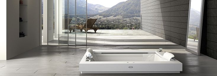 Vasche idromassaggio Aura Plus Corian
