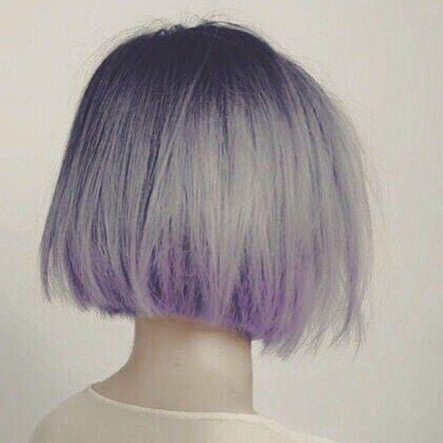 """""""Crazy-Cool bob! #bob #klipp #frisyre @fargedesign #inspirasjon #snarthelg #lavendel #lilla #purple #hår #hair #hairdresser #style #stylist #lovehair…"""""""