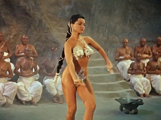 The Indian Tomb (Debra Paget) - Snake Dance Scene | Paget, Music ...