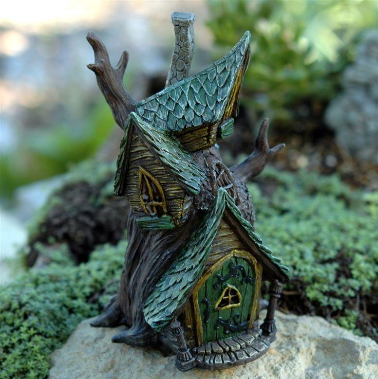 Fairy Homes and Gardens - Fiddlehead Fairy Tree House, $30.99 (https://www.fairyhomesandgardens.com/fiddlehead-fairy-tree-house/)