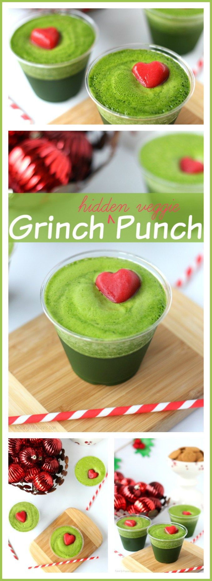 Kid-Approved Christmas Grinch Punch - Raising Whasians