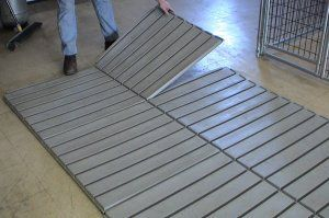 Dog Kennel Flooring by Options Plus Dog Kennels.