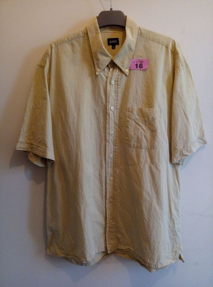 Guise Linen Short Sleeve Shirt XL