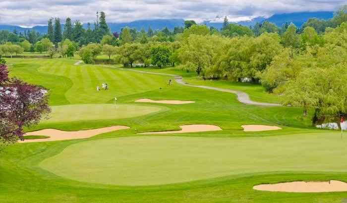 Royal spring golf course,srinagar