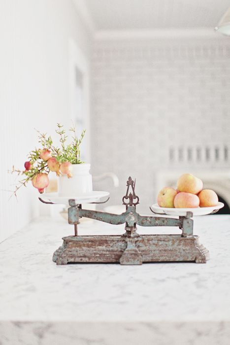 Vintage French Scale