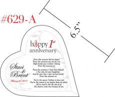 Romantic Happy 1st Wedding Anniversary Poem