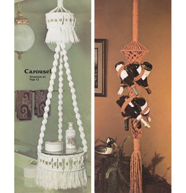 1970 39 s crafts vintage 1970 39 s craft book 10 macrame