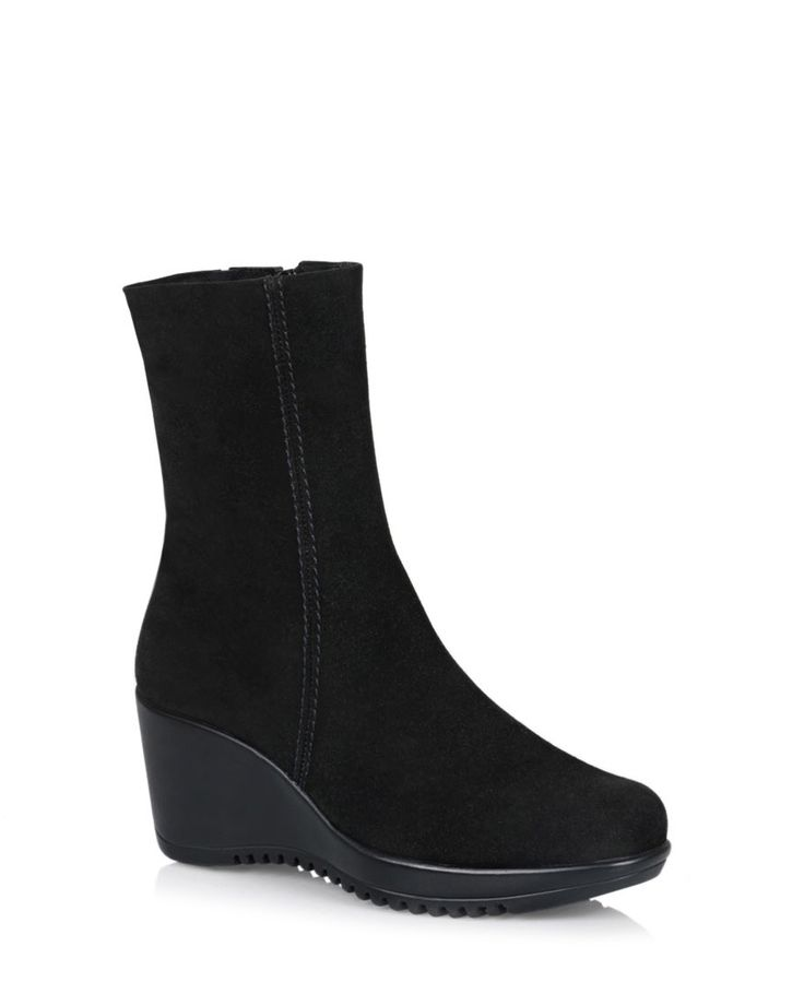 Wedge - Boots - Geralda | La Canadienne Boutique