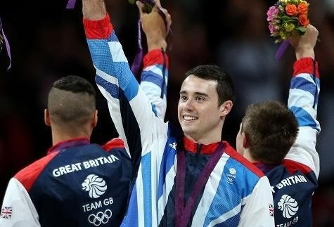 Local lad Kristian Thomas who won bronze (in the end) in the men's gymnastics. Nice one!   # Pin++ for Pinterest #
