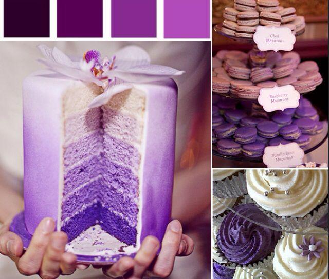Purple ombe