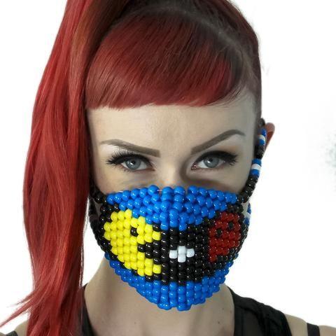 Miss Pacman Surgical Kandi Masks – Kandi Gear  www.KandiGear.com