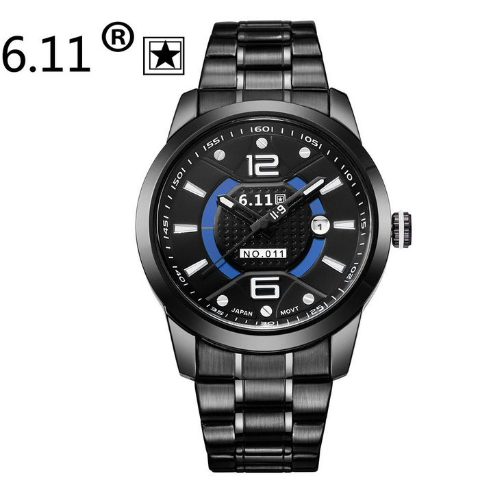 NEW Sundial   6.11 solar watch band waterproof watches men's luxury sport casual men's top new military full steel wrist watch