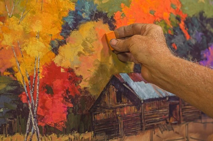 How To Add Texture To Pastel Colors | www.drawing-made-easy.com | #color