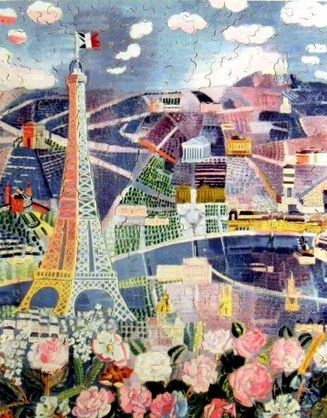 Spring in Paris, Raoul Dufy