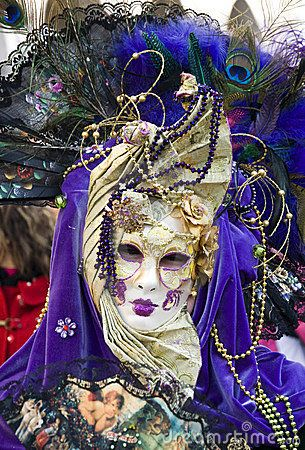Venice Carnival Celebration by Jelen80, via Dreamstime