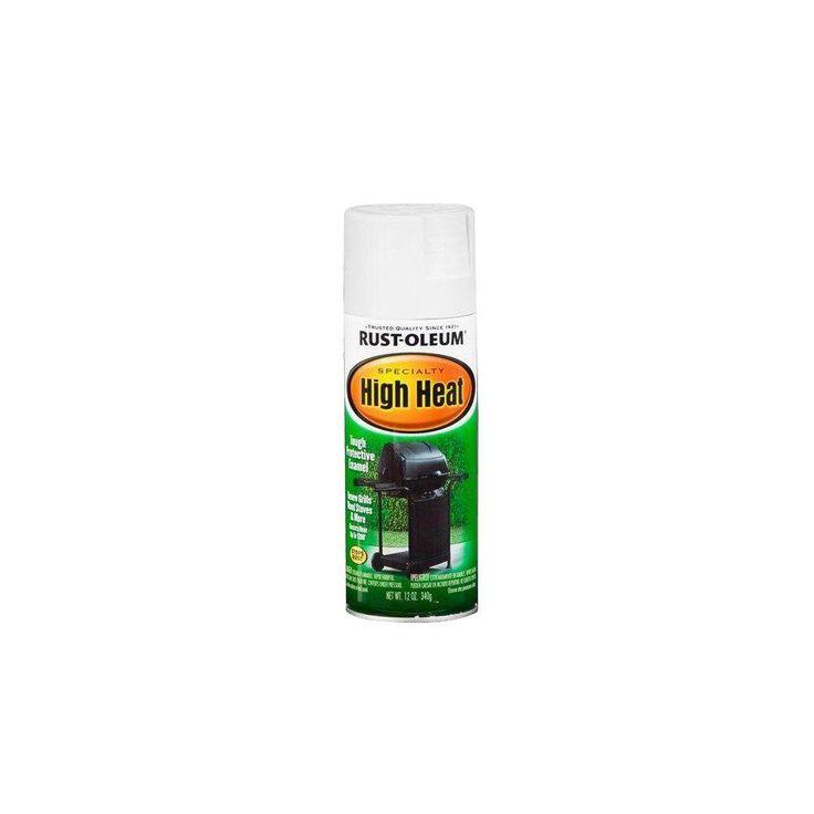 Rust-Oleum Specialty 12 oz. White High Heat Spray Paint