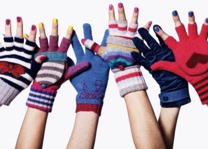 modelos de luvas femininas inverno coloridas e estampadas