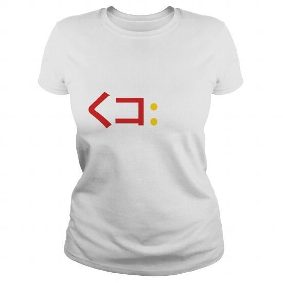Cool and Awesome  Squid Emoticon ã??コ彡 Japanese Kaomoji Shirt Hoodie