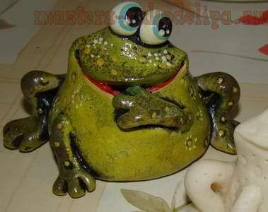 Master Class: Frog of salt dough