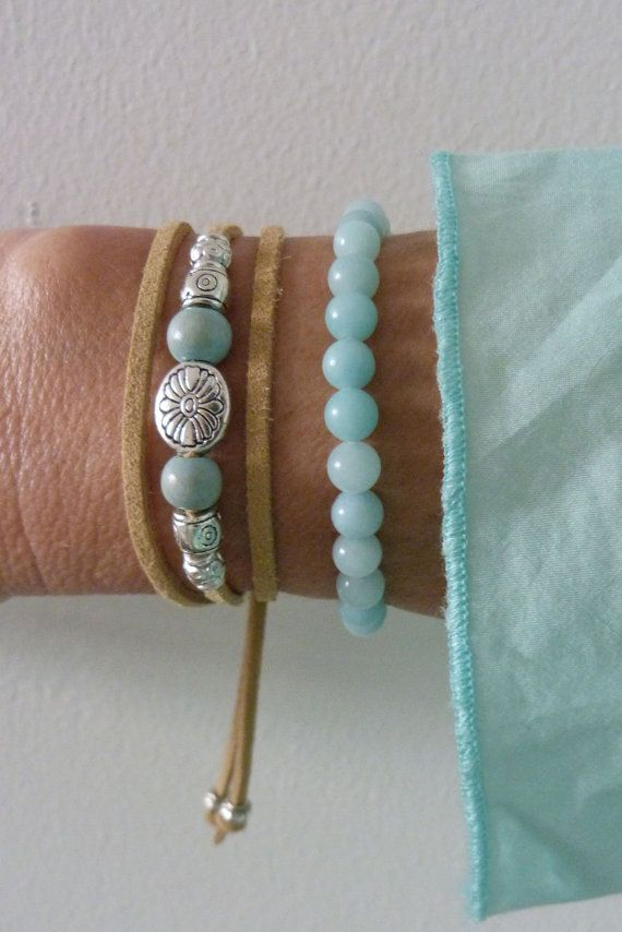 envelopper le bracelet bracelet naturel par beachcombershop sur Etsy
