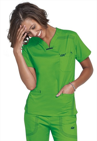 scrubs...wear them everyday so I always look for cool new styles & colors!