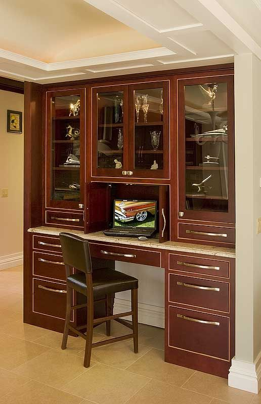 cherry custom home office desk. Would Be Nice To See Using Our O\u0027Neil Cherry. Dark Wood KitchensCustom DeskCherry CabinetsKitchen Cherry Custom Home Office Desk I