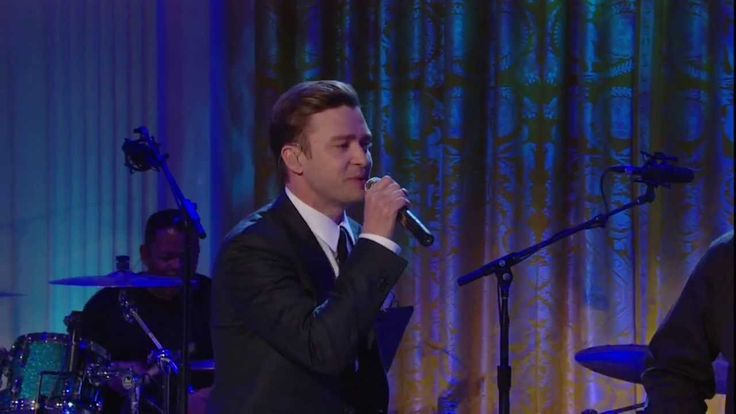In Performance at The White House | Justin Timberlake | (Sittin On) The Dock Of The Bay, via YouTube.
