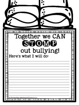 STOMP out Bullying would be a great way for students to give their opinions as to how to change these actions and it may also show those with the bullying behavior there are ways to stop.