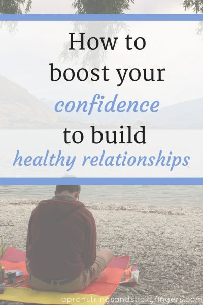 how to build more confidence in a relationship