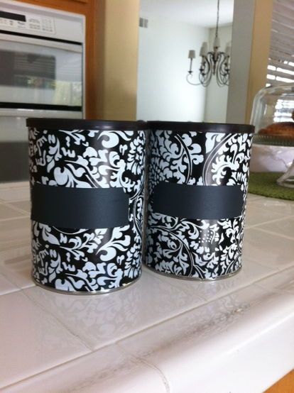 this is a simple way i repurposed coffee cans, crafts, repurposing upcycling