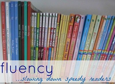 Ideas for slowing down kids who read too quickly!
