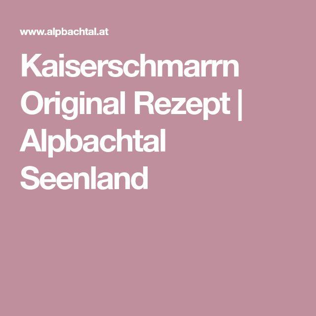 Kaiserschmarrn Original Rezept | Alpbachtal Seenland