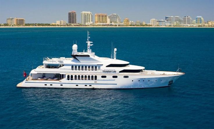 155' STERLING YACHTS TRIUMPHANT LADY Current Price: $8,900,000.00