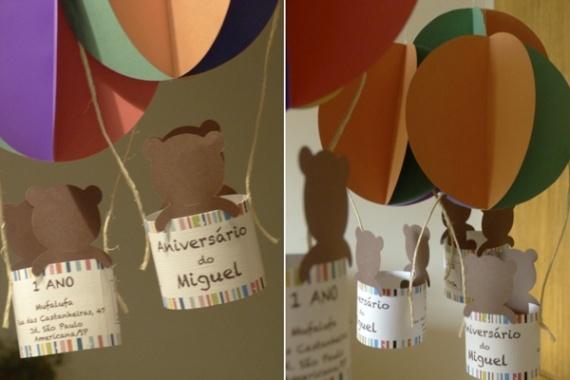 lindo: Decoracao, Balão Decorativo, Festa Infanti, For Parties, Decorativo De, Of Papell, Party, Papell For, Crafts