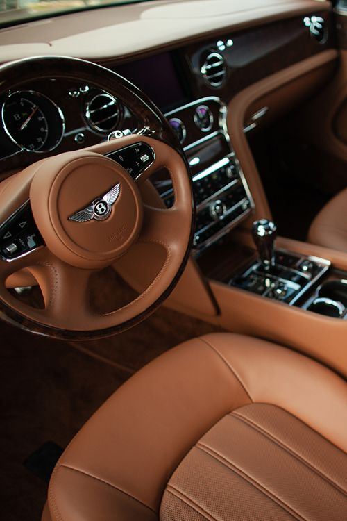 One of the most elegant car interios - Bentley Mulsanne