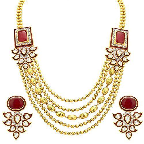 Red Stone Indian Bollywood Gold Plated Traditional Ethnic... https://www.amazon.com/dp/B06XD8S7TS/ref=cm_sw_r_pi_dp_x_u3PlzbC7ZT18W