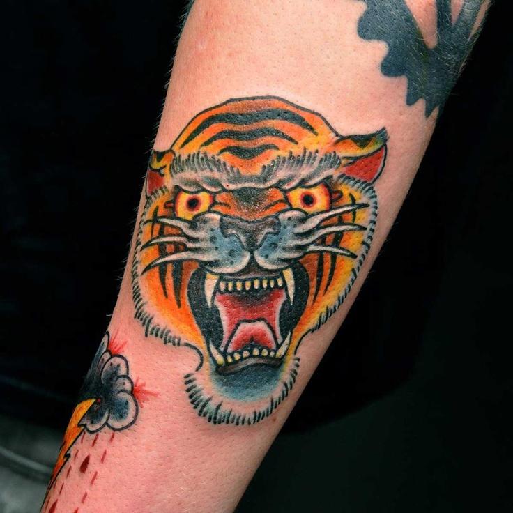 Traditional Tiger Head...